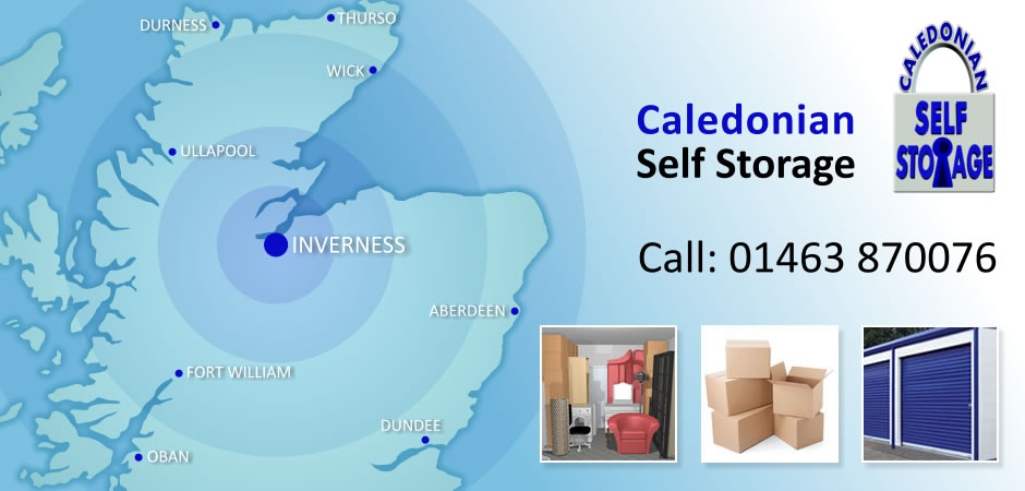 Caledonian Self Storage - Storage Solutions for Inverness and The Highlands